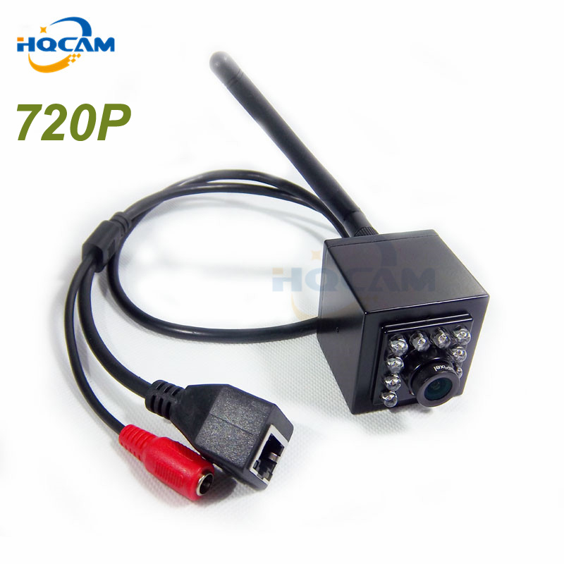 HQCAM Mini IR Camera Indoor 940nm Ir Led Wireless WIFI Ip Camera seelan Smallest font b