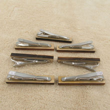Classic Wooden Tie Clips