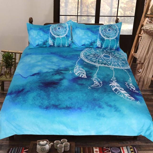 WaterBlue Dreamcatcher Bedding Set