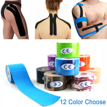 5cm Waterproof Kinesiology Tape Roll Sport Recovery Athletic Strapping Gym Fitness Protector Muscle Relief Pain Elastic Cotton 7pcs lot kinesiology tape physical therapy sports bandage recovery athletic fitness protector knee pain muscle elastic strap