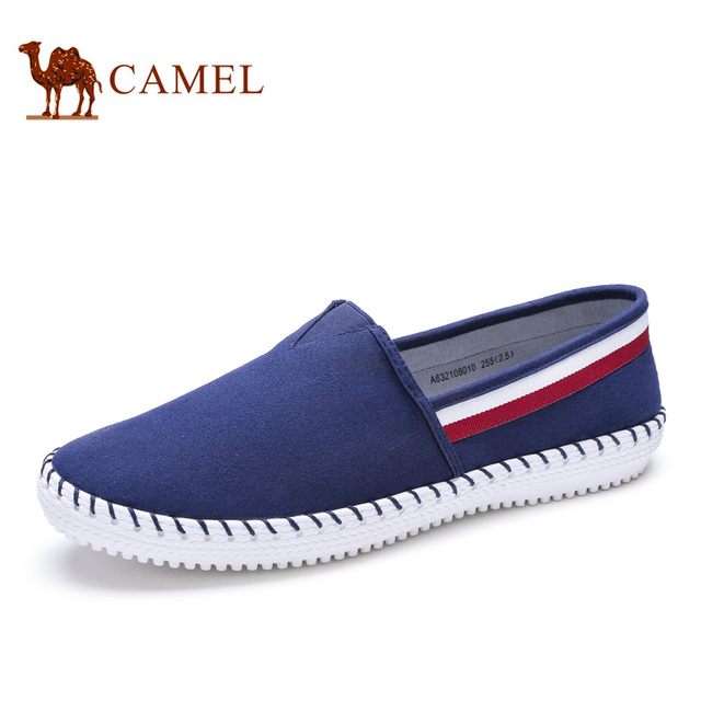 Camel men's 2016 autumn new daily leisure low help foot flat canvas shoes,  men's shoes