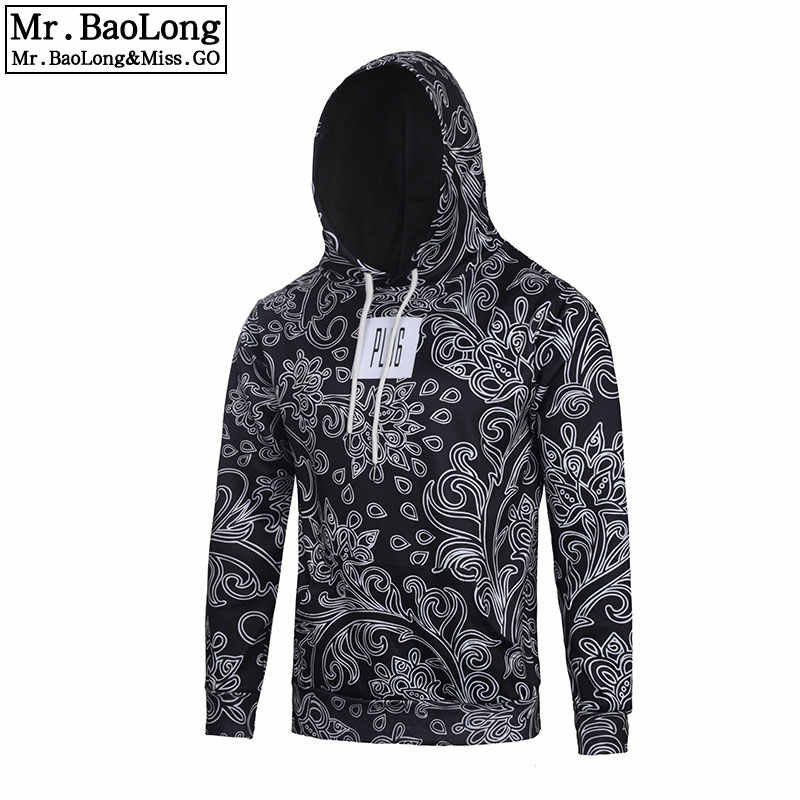 bee6e9fb6a89 Detail Feedback Questions about New Men s Bandana Hip Hop Hoodies and  Sweatshirts Men Autumn Sudadera Hombre Paisley Black Sweat Homme Pullover  Brand ...