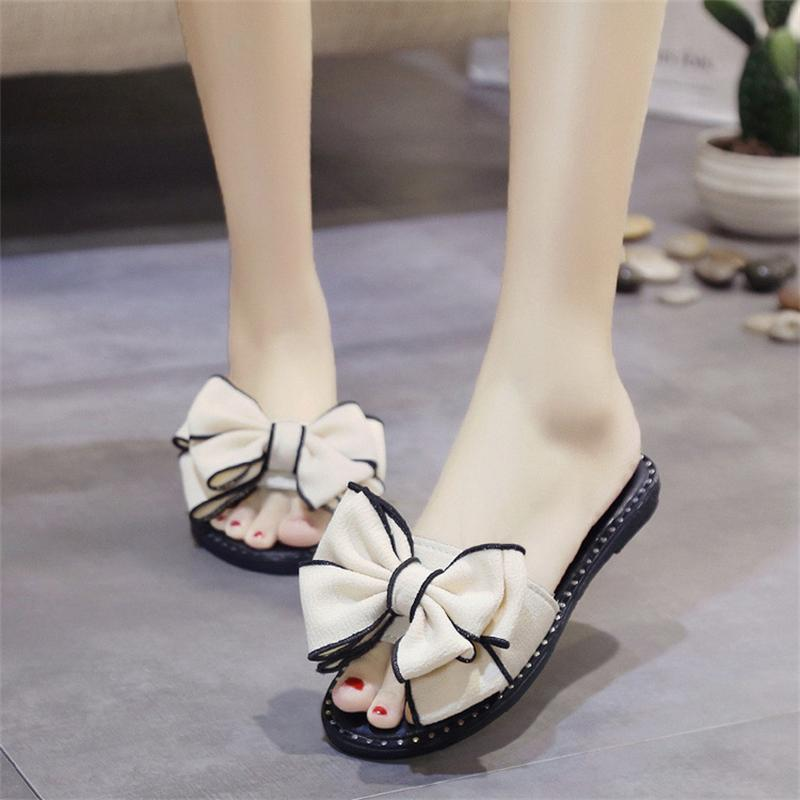 Women Sandals Flips Flops 2017 Summer Shoes Woman Wedges Sandals Fashion Butterfly-knot Platform Female Slides Ladies Shoes women sandals 2017 summer shoes woman wedges fashion gladiator platform female slides ladies casual shoes flat comfortable