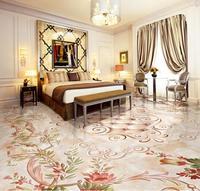European 3d Floor Pattern Marble Custom 3d Stereoscopic Floor Wallpaper Self Adhesive 3d Photo Floor