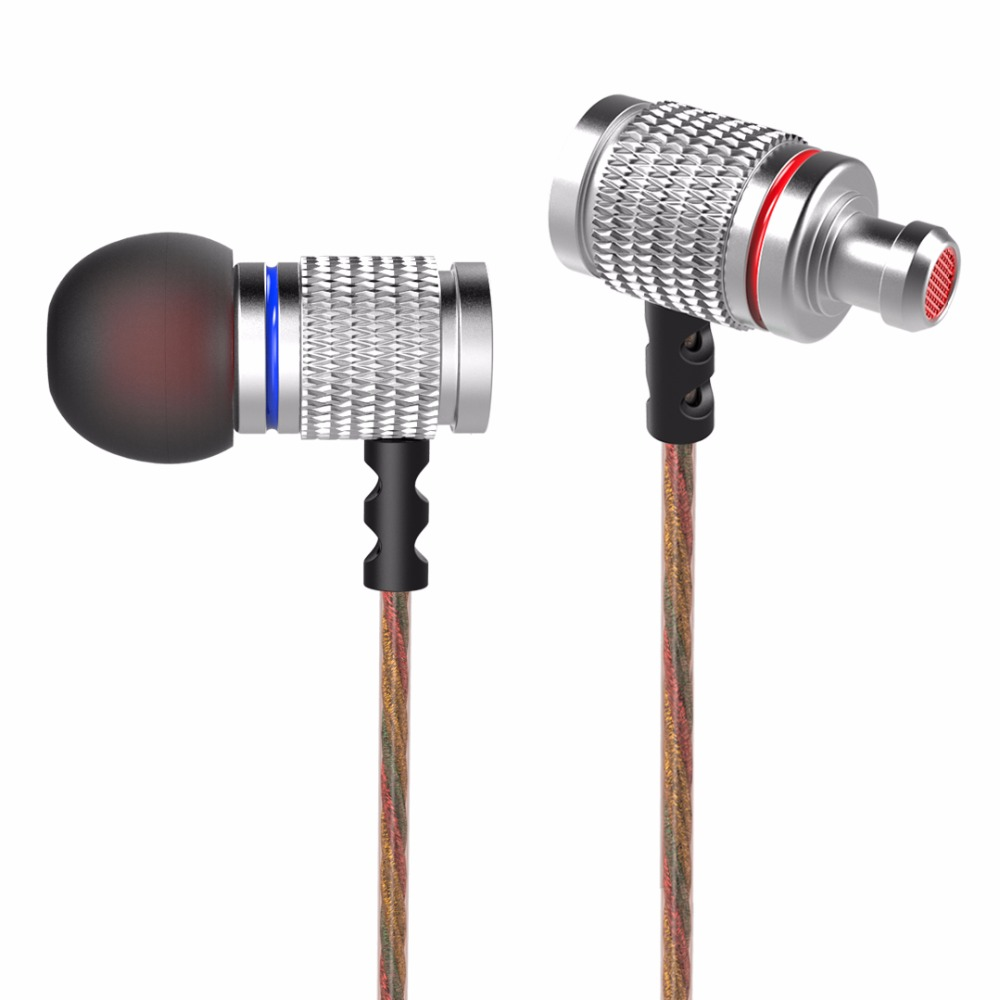 Original KZ ED KZ-ED2 Professional In-Ear Earphone Super Metal Heavy Bass Sound Music Earphone Headset Earbuds fone de ouvido professional earphone metal heavy bass music earpiece for explay bit fone de ouvido
