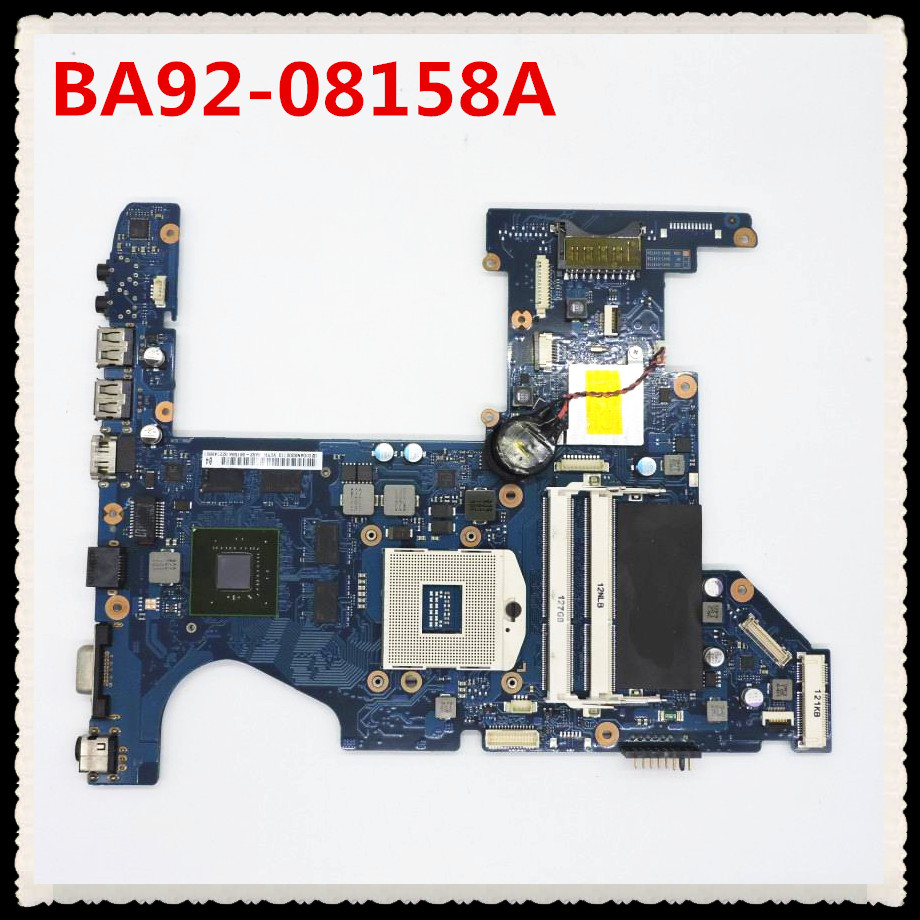 RC530 Laptop motherboard mainboard DDR3 with 2GB graphic BA92-08158A BA92-08158B test good