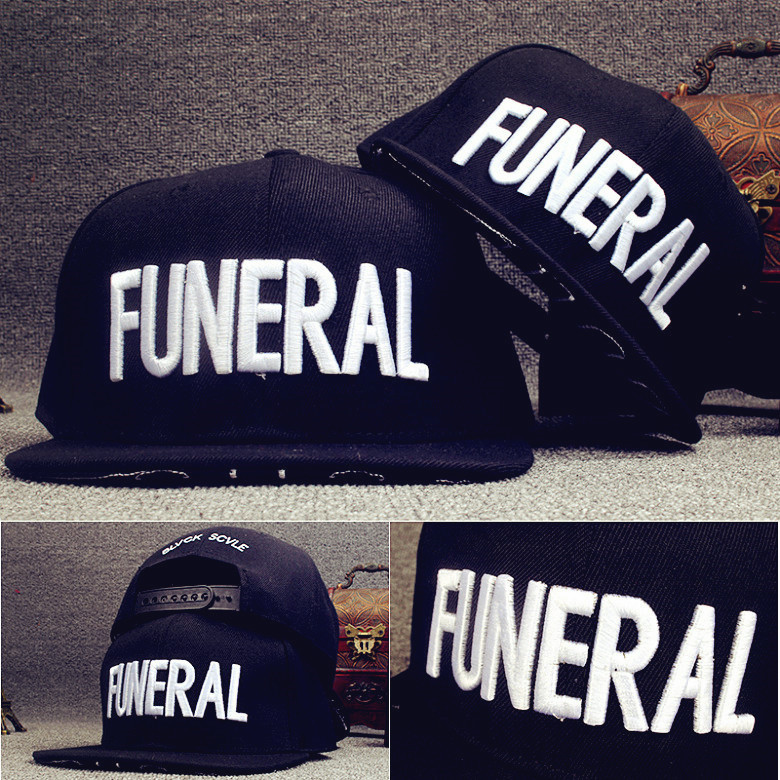 Korean Version Of The New Canvas Embroidery Letter Funeral