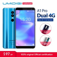 Umidigi A1 Pro Global Version Dual 4G LET Smartphone 18 9 Full Screen 3GB 16GB 3150mAh