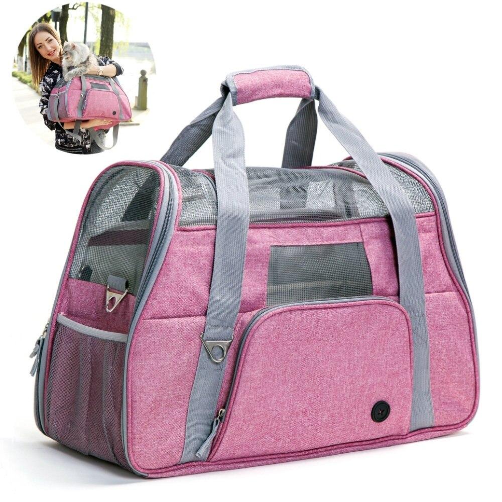Luxury Portable Pet Dog Large Dogs Cat Shoulder Backpack Outdoor Pet Carrier Bag Outdoor Shoulder Bags
