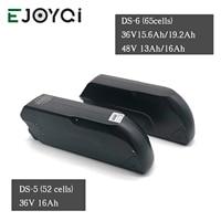 EJOYQI 36V 48V Battery Li ion Battery 12ah 13ah 16ah e bike Tigershark Cycling Lithium Battery With 2A 3A Charger