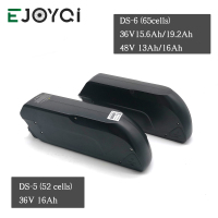 EJOYQI 36V 48V Battery Li ion Battery 12ah 13ah 16ah e bike Tigershark Cycling Lithium Battery With 2A 3A Charger