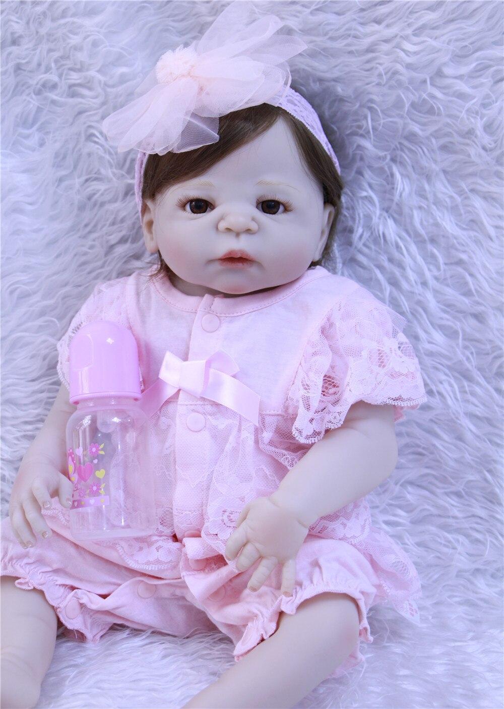 DollMai 23 bebe bambola menina victoria vestito pieno del corpo del silicone bambole reborn per i bambini regalo FAI DA TE bambola BJD falso del bambino silicone bonecaDollMai 23 bebe bambola menina victoria vestito pieno del corpo del silicone bambole reborn per i bambini regalo FAI DA TE bambola BJD falso del bambino silicone boneca