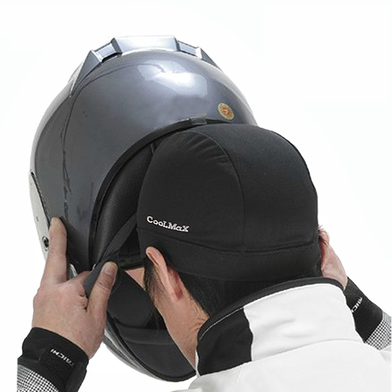 Zan Coolmax Cloth Motorcycle Black Headgear Summer Moto