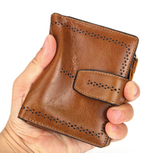 AOEO Ladies Genuine Leather Wallet Female Separate Coin Purse Hollow Out Calfskin Mini Money Bag Vintage Wallets Women Purses aoeo wallet women genuine leather for phone pocket coin holder wristlet calfskin wallets female purse for girls ladies purses