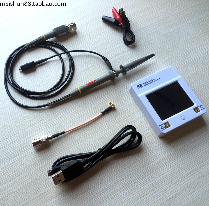 Osciloscopio osd 112A ekran dotykowy tft przenośny mini-cyfrowy oscyloskop interfejs USB 2MHz 5 msp oscyloskopy osciloscop
