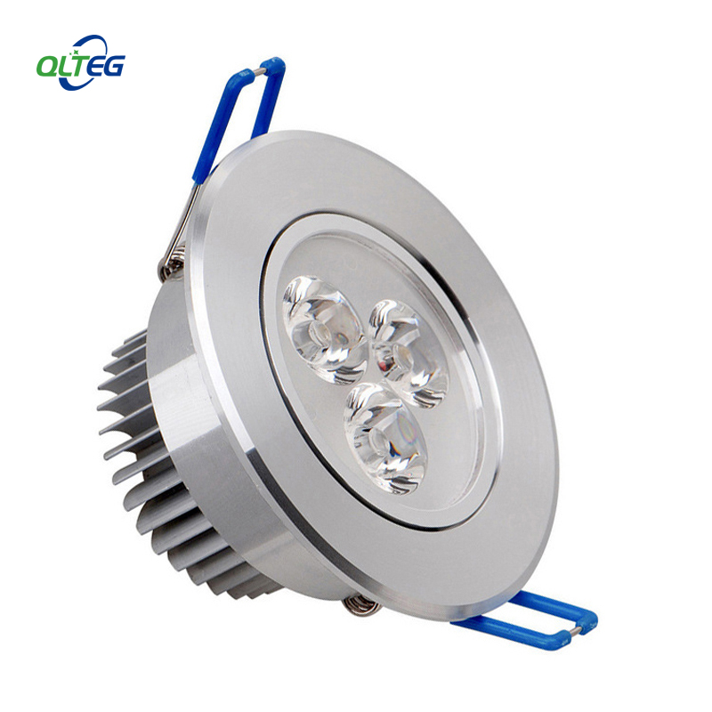 LED Spotlight 3W 6W Dimmable  LED Recessed Cabinet Wall Spot Down Light Ceiling Lamp AC110V 220V Cold White For Home Lighting