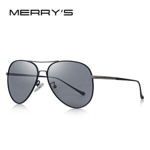 Image 3 - MERRYS, gafas de sol clásicas polarizadas fotocromáticas para hombre, gafas de sol para conducir con camaleón, 100% protección UV S8177