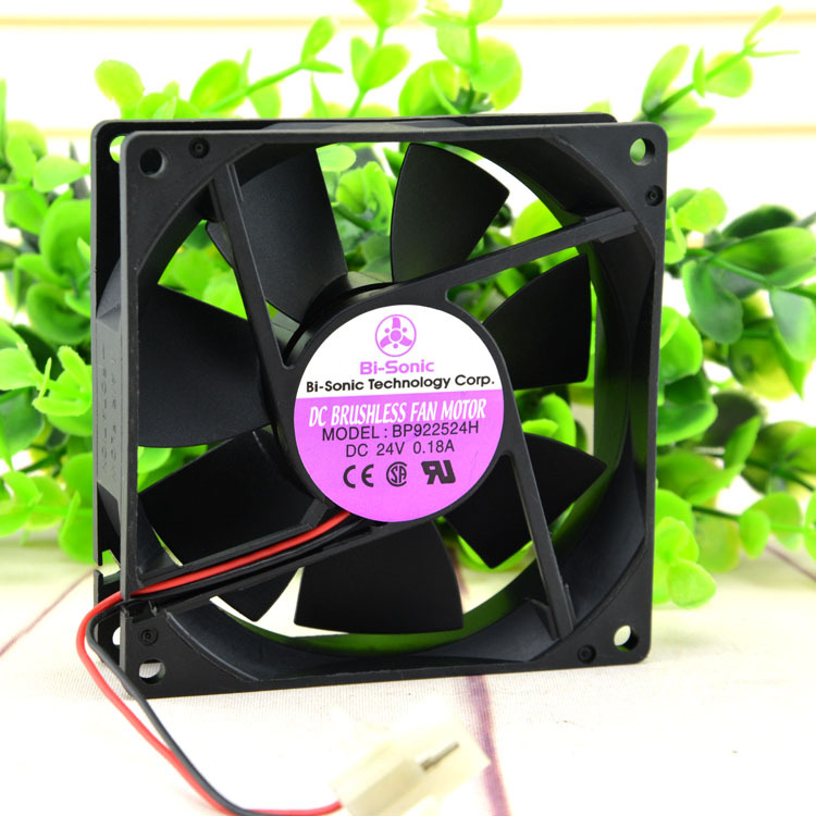 Free Shipping New Original Bi-Sonic 9225 BP922524H DC24V 92 * 92 * 25MM drive chassis fan free delivery 9225 inverter argon arc welding machine cooling fan small fan 92 92 25mm dc24v copper motor