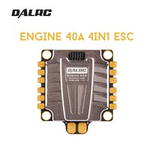 NEW DALRC 4IN1 ENGING 40A ESC 3-5S Blheli_32 4 in 1 ESC Brushless DSHOT1200 Ready w/ 5V BEC for RC Racing Drone Quadcopter Frame