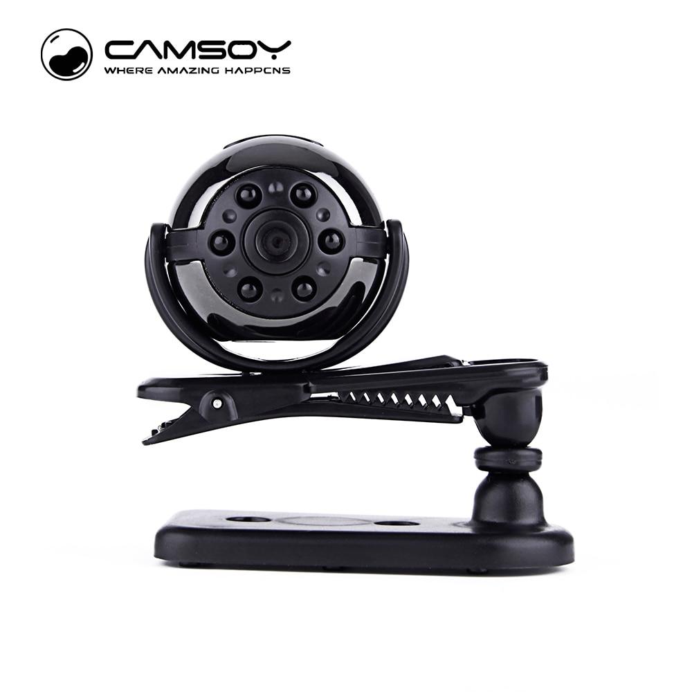 새 버전 미니 카메라 SQ9 1080P 720P IR 나이트 비전 마이크로 카메라 모션 센서 휴대용 카메라 360도 미니 DV DVR 캠