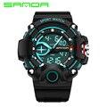 SANDA Marca Relógios G estilo Digital LED Militar Relógio Do Esporte dos homens Homens Da Moda S-choque Relógio Digital de relogio masculino