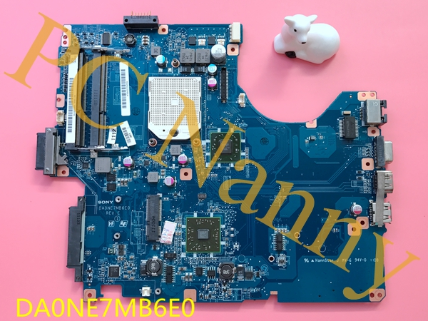 A1823506A DA0NE7MB6E0 For Sony VPCEE42FX Laptop Motherboard System Board DDR3 Amd Mobility Radeon HD 4200 Series