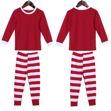 New Lovers Matching Pajamas Christmas Sleepwear Autumn Winter Women Men Pajamas Sets O-Neck Long Sleeve Leisure Home Clothes