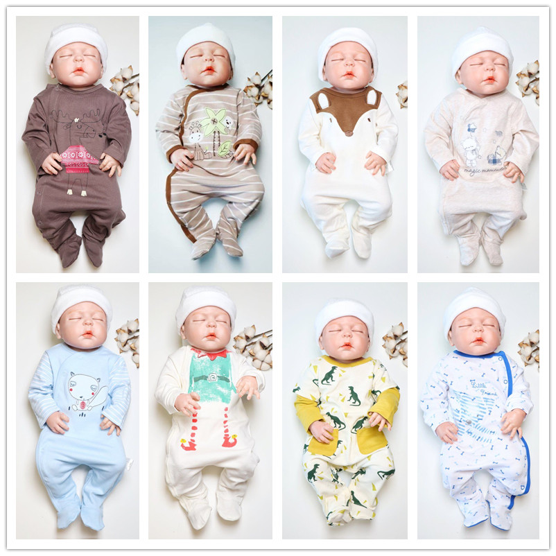 2018 winter warm baby rompers mayo baby clothes