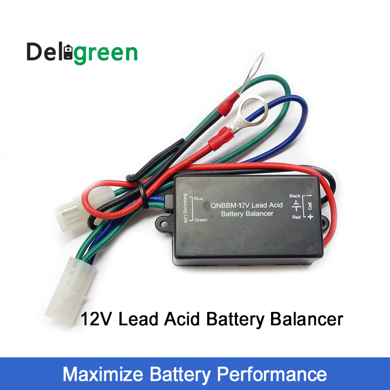 QNBBM 12V Lead Acid Battery Equalizer Balancer  BMS Pevent From Corrosion And Sulfuration