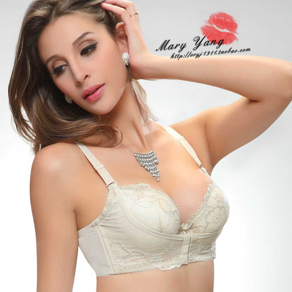 9f019cf0e1301 ... OUDOUMILIA Hot Super Push Up Bra For Small Breasts Lace Bras For Women  Water Brassiere Sexy ...
