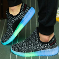 2017 hot fashion Men Led shoes light up shoes for adults star casual shoes luminous shoes Lover's Dance Shoes