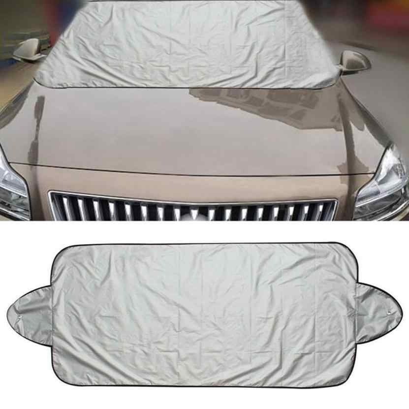 Tiptop Good Sale Car Snow Ice Protector Visor Sun Shade Fornt Rear Windshield Cover Block Shields Drop Shipping