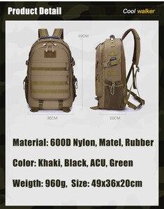 Image 3 - 40L askeri taktik Assault paketi sırt çantası ordu Molle su geçirmez Bug sırt çantası açık yürüyüş kamp avcılık şarj deliği