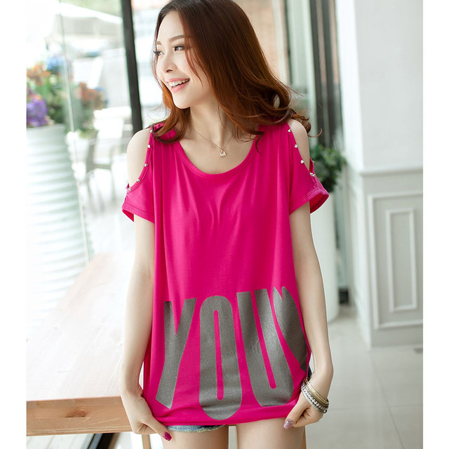 Algodón camiseta divertida camiseta de las mujeres 2016 impresión de la letra camiseta linda camisa de mujer sexy kawaii summer tops camisetas mujer camiseta femme