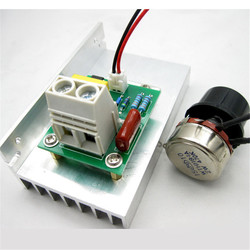 CNIKESIN 10000W imported SCR super power electronic heater regulator, dimming, speed and temp.
