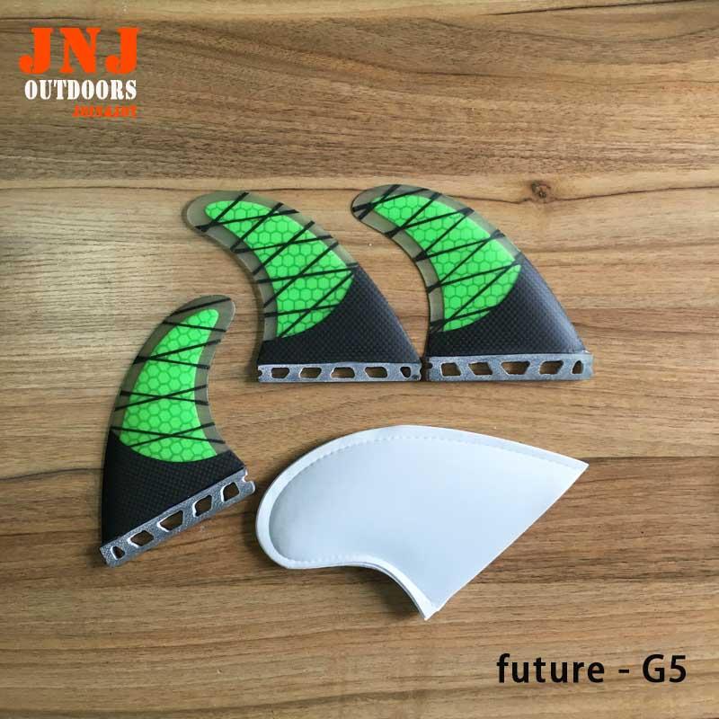 Бесплатная доставка сильнейший стекловолокна углерода будущее Tri-набор м G5 ласты для Серфинга Будущем Плавники 3 шт. A комплект ...