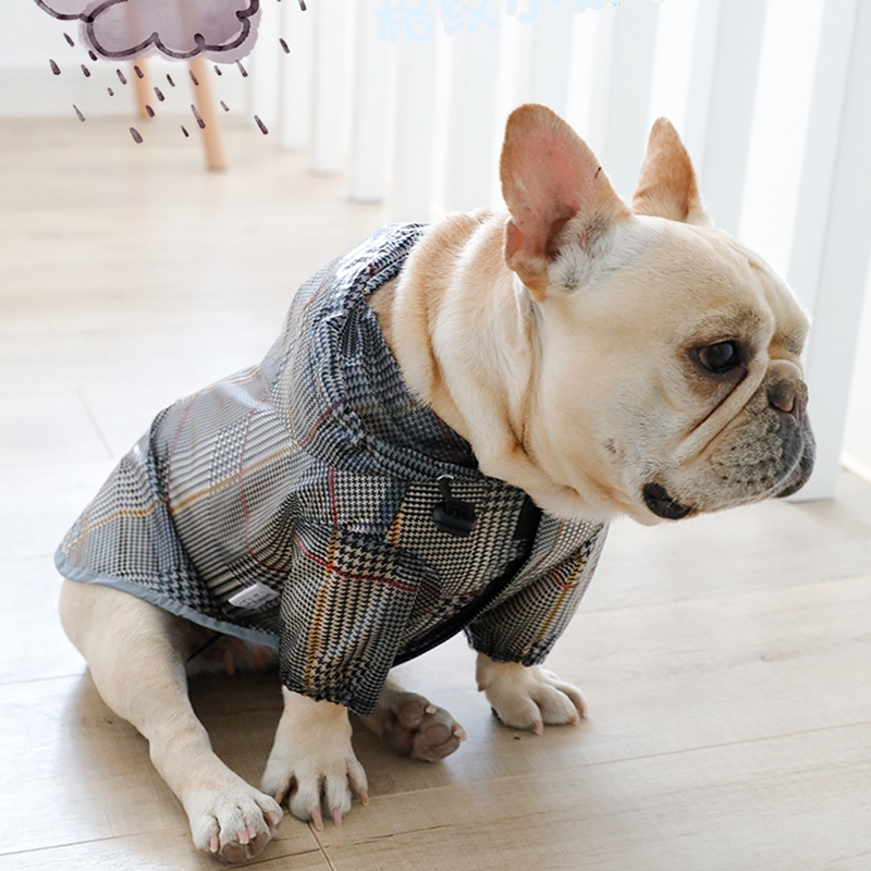 [MPK Dog Poncho] Dog Raincoat For French Bulldogs And Pugs