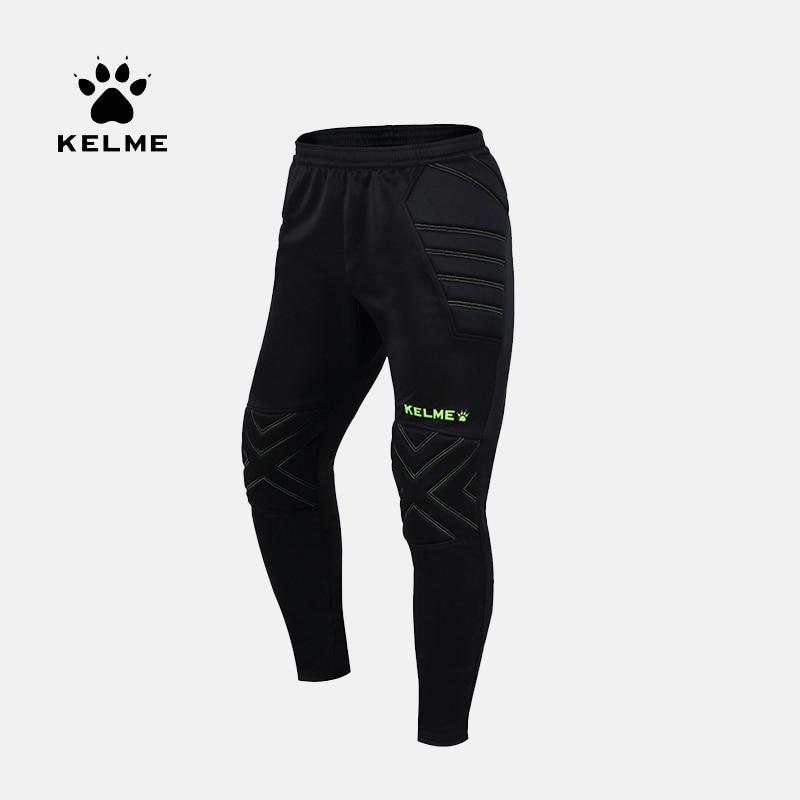 KELME Men's Survetement Football Pants Soccer Training Active Trousers Sport Running Protector Goalkeeper Sweatpants K15Z408L