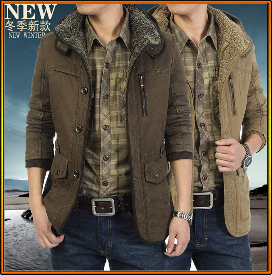 Mens jacket cotton - Aliexpress Com Buy New Fashion Cotton Winter Jackets For Men Coats Hoodie Mens Jacket Winter Coat Hoody Jacket Men Clothing Plus Size Overcoat From