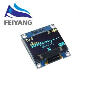 """Image 2 - 100PCS 4pin 7pin White/Blue/Yellow Blue color 0.96 inch 128X64  OLED Display Module For Arduino 0.96"""" IIC I2C SPI Communicate"""
