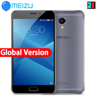 Original Meizu M5 Note Global version 2.5D Glass 4G LTE Cell Phone Helio P10 Octa Core 5.5