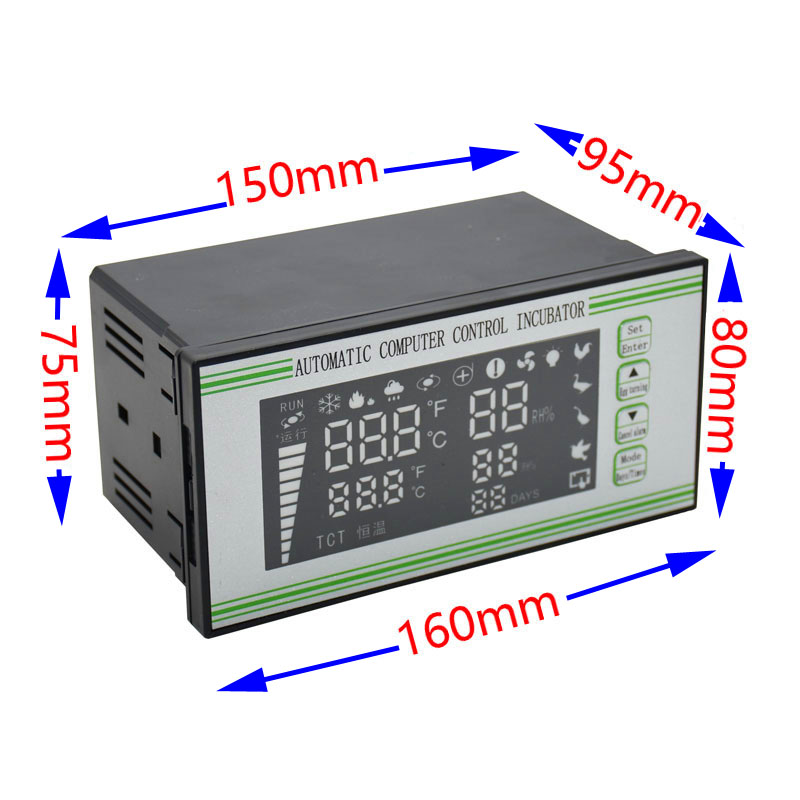 XM 18S Egg Incubator Controller Thermostat Hygrostat Full Automatic Control With High Quality 1pcs-in Cages & Accessories from Home & Garden    2