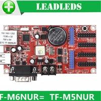 LLDTF M6NUR TF M5NUR Single Dual und Voll farbe led anzeige steuer karte für led bildschirm kostenloser versand|Werbung-Leuchten|Licht & Beleuchtung -