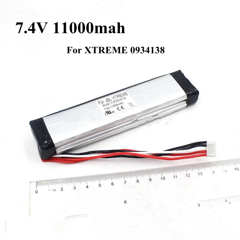 7.4v 11000mah Lithium Polymer Battery Rechargeable Li ion 7.4v GSP0931134 for XTREME Bluetooth Wireless Speaker Free Shipping-in Replacement Batteries from Consumer Electronics    1