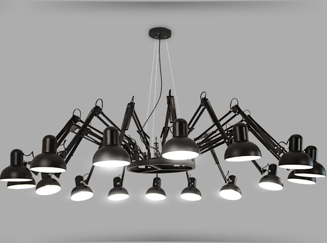 Modern American Personality lamp Spider Extendable light Pendant Scalable Lamp home/office/bar decoration light lamp