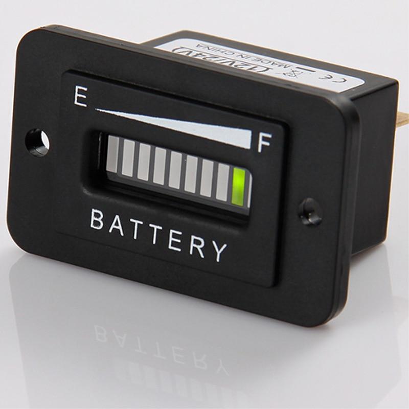Lead Acid Storage Battery Free Shipping!Battery Discharge Indicator Charge Indicator 12V 24V