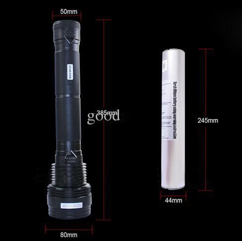Fumat 8000 lúmen 7800 mah lanterna xenon ultra brilhante 85 w/65 w/45 w + sos/strobe caça acampamento ao ar livre tocha hid xenon lanterna - 5