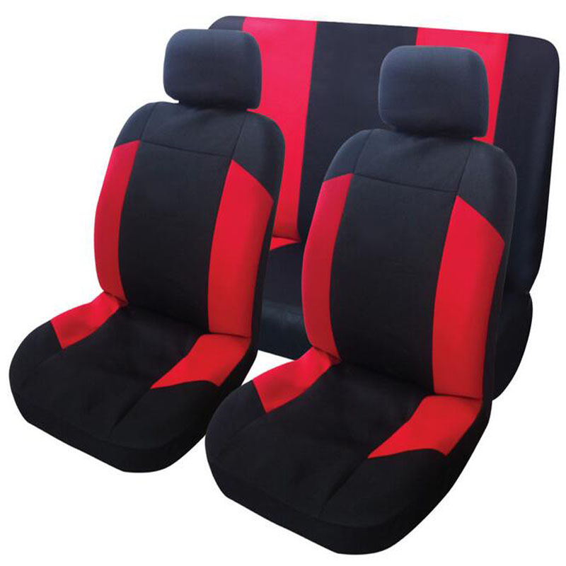 High Quality Car Seat Covers Universal Fit Polyester 3MM Composite Sponge Car Styling lada Suv car seat covers