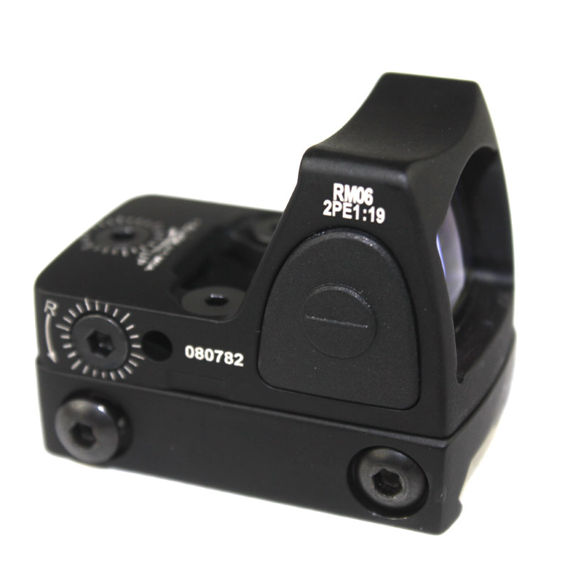 Hot Sale Red Dot Sigh Style Red Dot Sight With Switch For 20mm Picatinny Rail With Hunting Airsoft M4 AK G36 M1911 GLOCK Rail