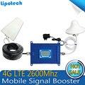4 Г LTE Усилитель Сигнала сотовый телефон сигнал Повторителя 2600 МГц 70dBi получить 2600 4 Г Горит Мобильный Телефон Усилитель Сигнала с жк-дисплеем дисплей